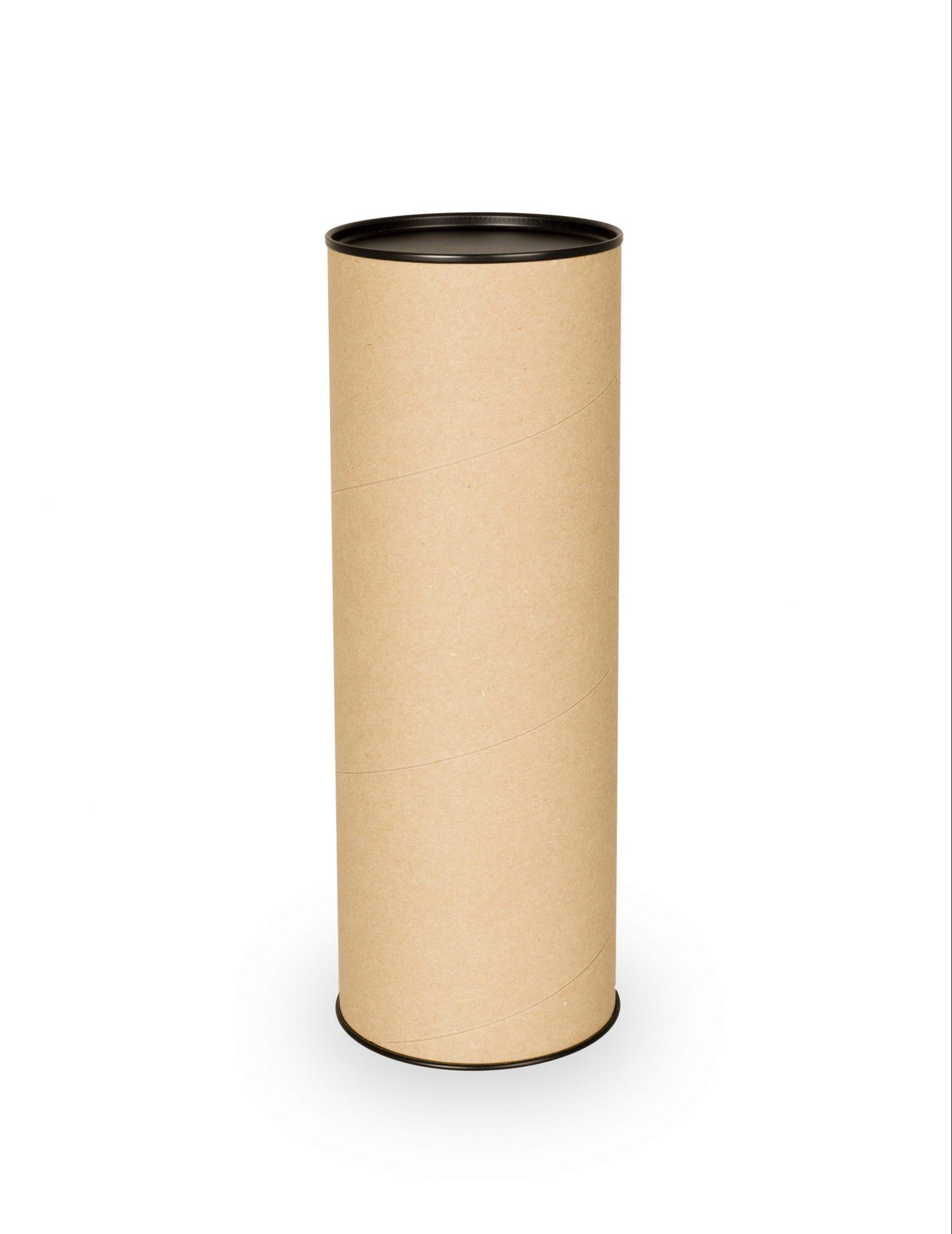 MMBverpakkingen_ kartonnen koker plastic deksel
